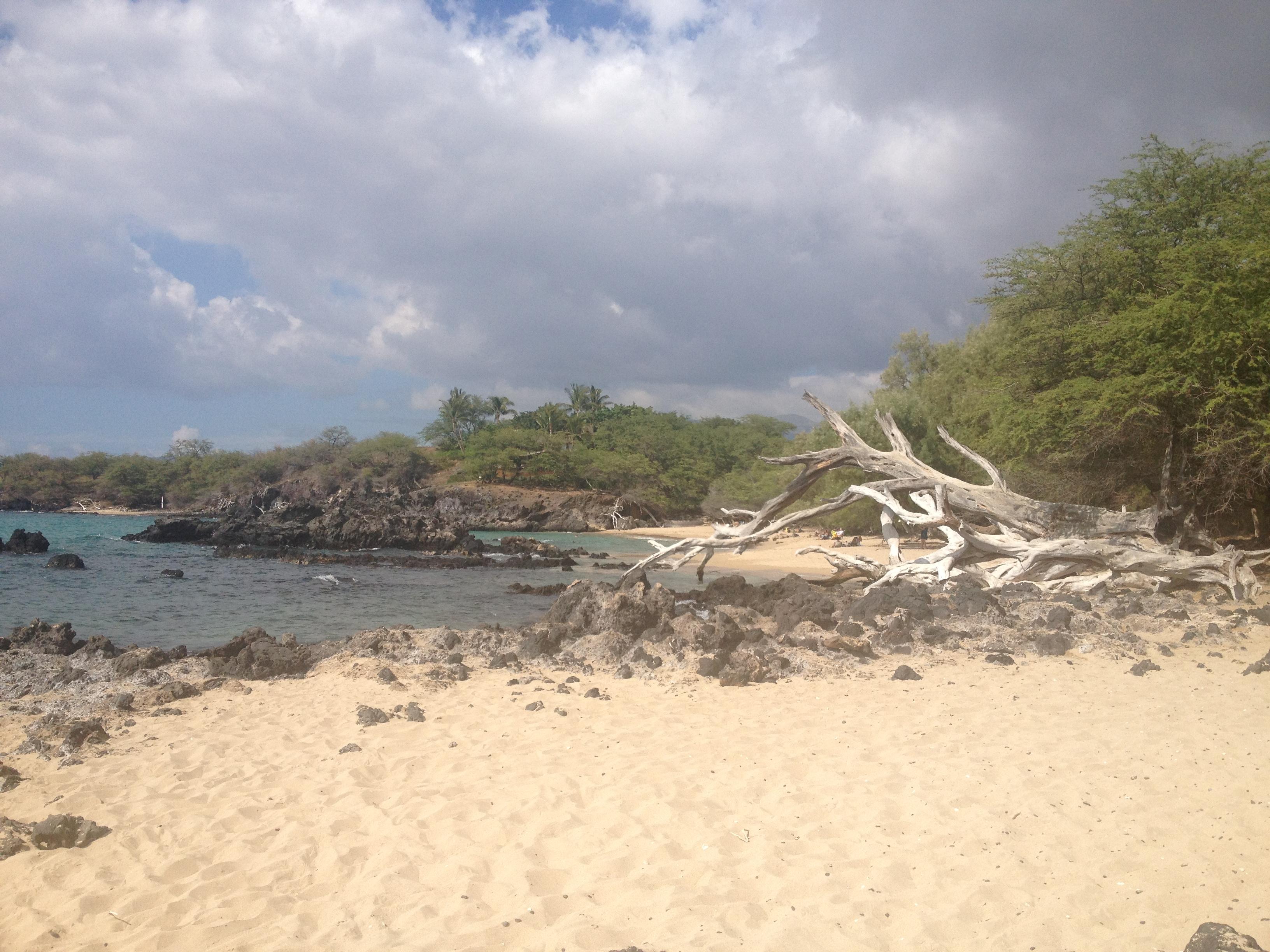 69 Beach Off The Kona Coast On The Big Island Of Hawaii