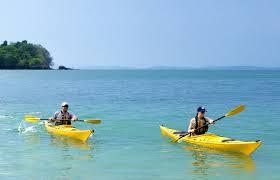Boating in the bay