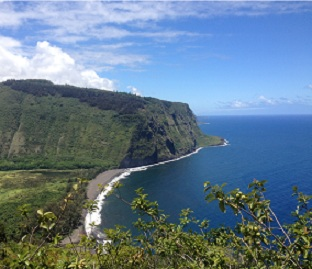 Waipio Valley Hamakua Coast Honoka'a Hawaii