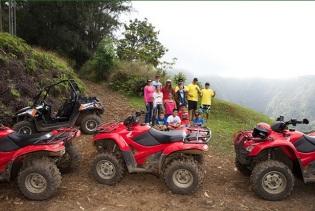 Four wheeler exploring