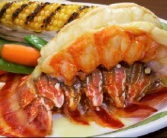 Lobster and grilled corn