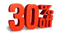 30% off with 6 month commitment