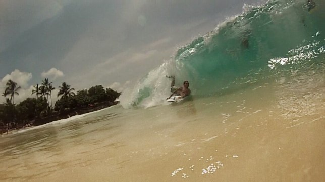Magic Sands Surf session