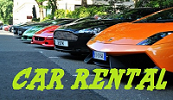 CAR MOTORCYCLE SUV RENTAL
