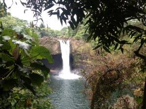 Beautiful Rainbow Falls Hawaii