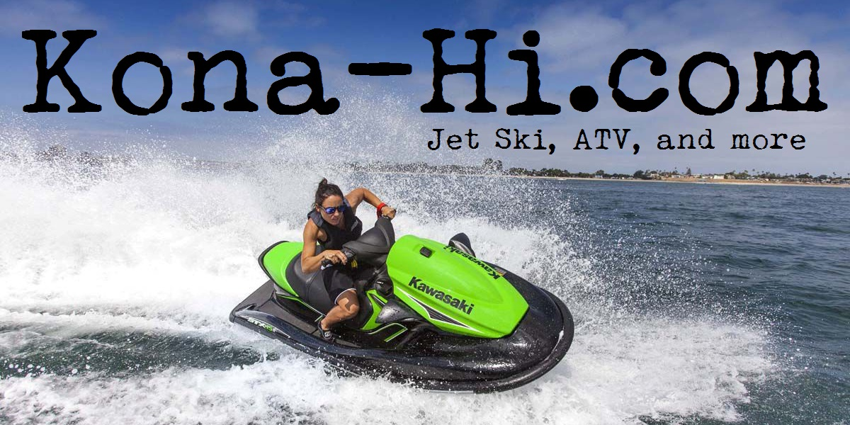 Jet Ski Four Wheeler Submarine Parasailing Jetovators Moped Rentals and Tours in Kailua Kona Hawaii