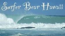 Surfer Bear Hawaii Surf Lessons Big Island of Hawaii
