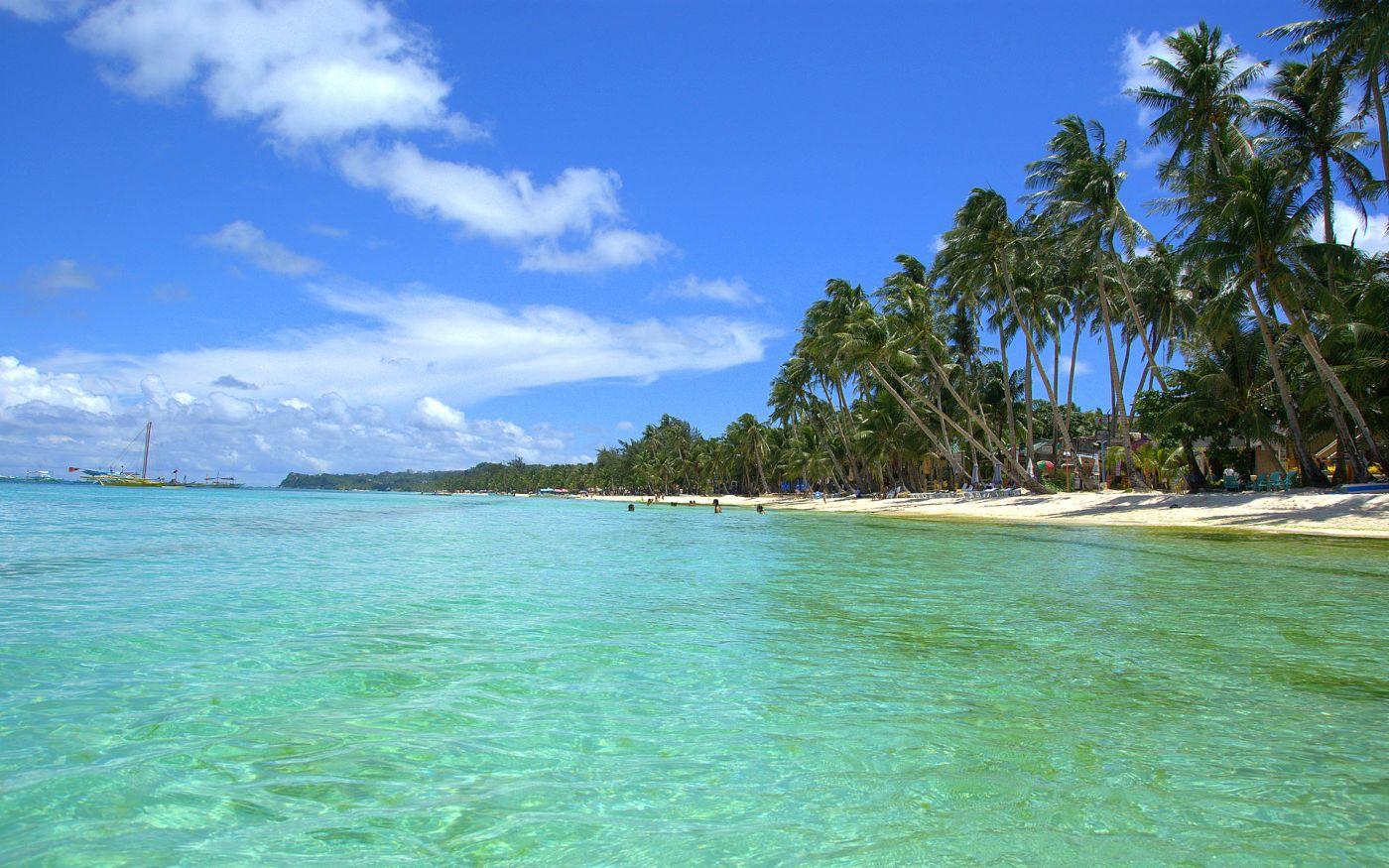 tropical beach Kona Hawaii