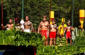 king kam day 2015 Kapa'au, Hawaii