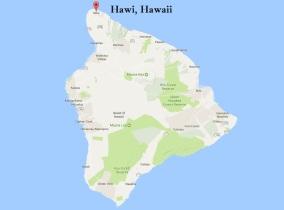 Hawi map