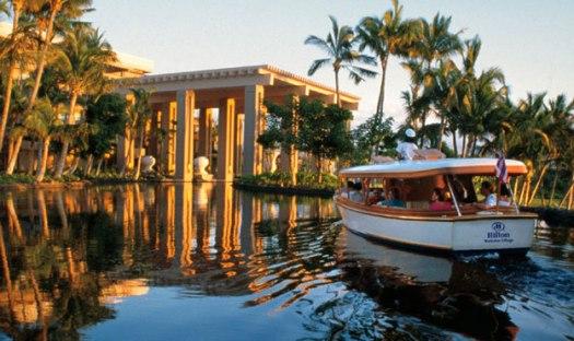 Hilton Boat taxi