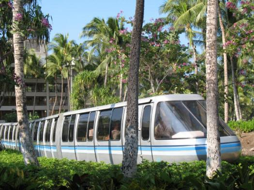 Hilton Tram ride