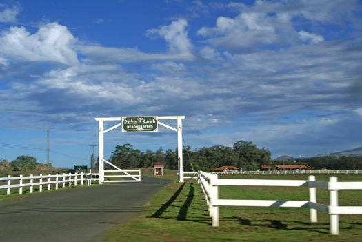 Parker Ranch entrance