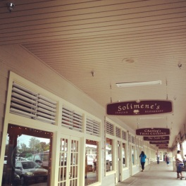 Shoping outdoor mall
