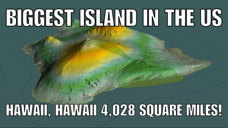 Biggest Island in the USA