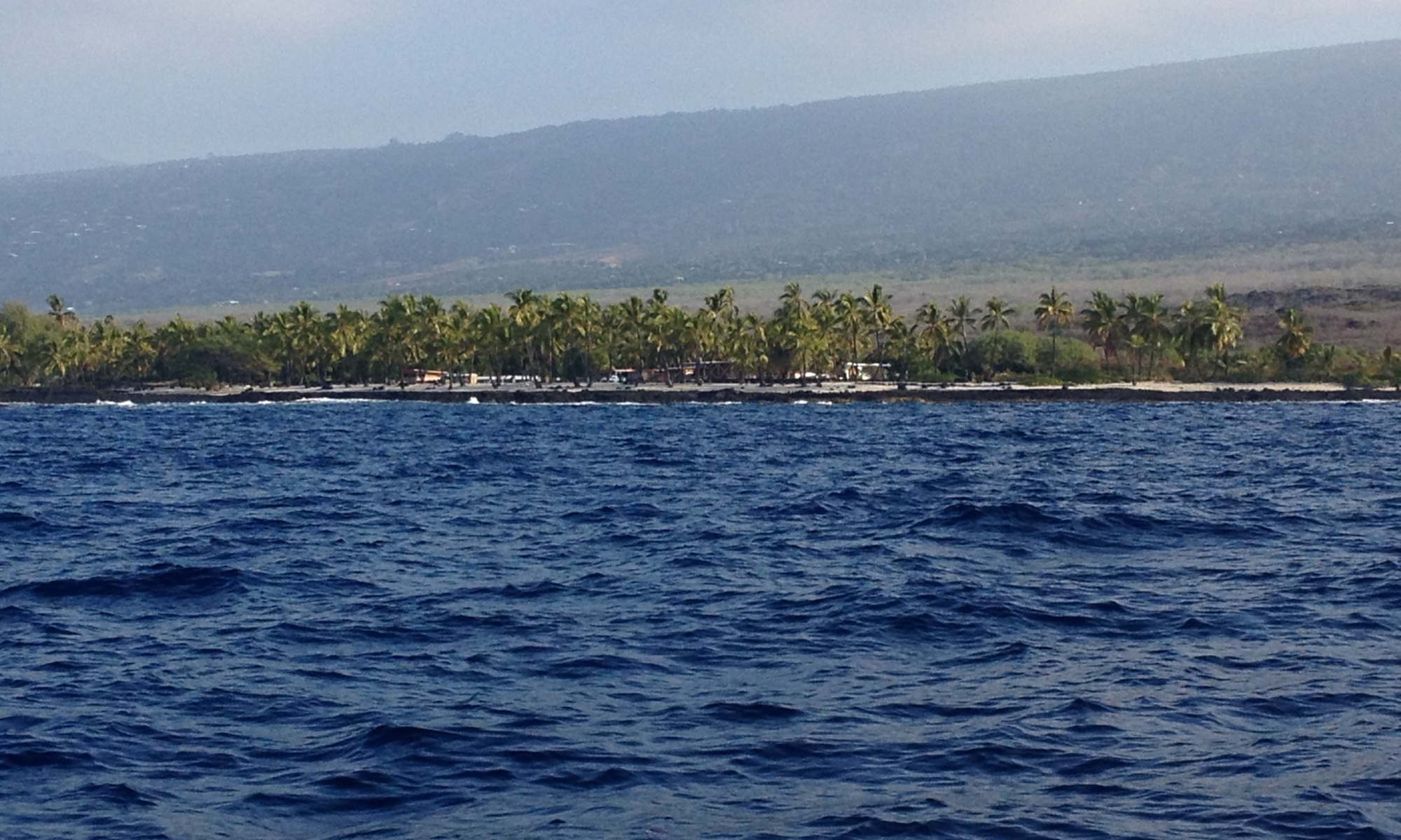 Big Island from sea