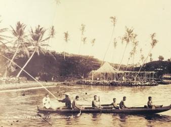 keauhou bay landing 1895