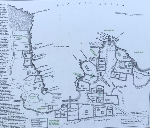 Keauhou Bay map