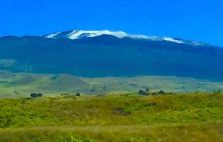 Snow Capped Hawaii