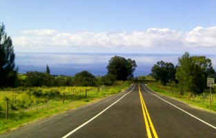 Pa'auilo, Hawaii Highway