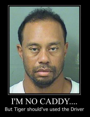 Tiger Woods Needs a new Caddy