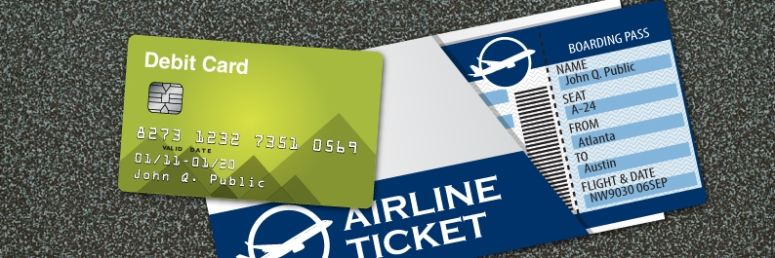 debit-card-airline-tickets