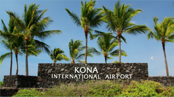 KOA Kona Hawaii Airport