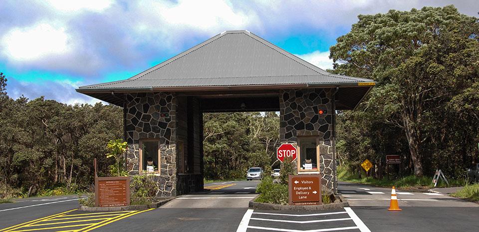 Volcano National Park Entrance