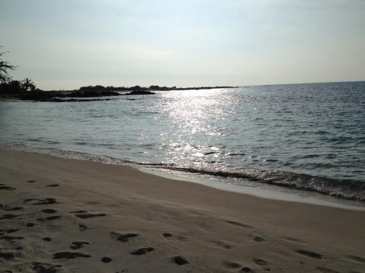 Makalawena Beach Maks Kona Hawai I