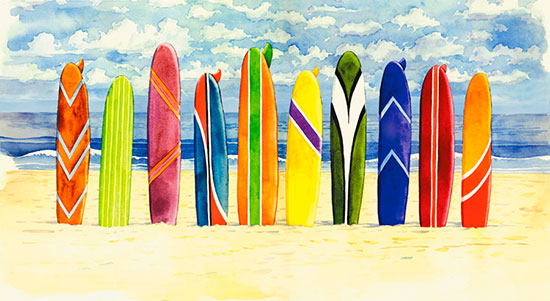 All Surf boards available