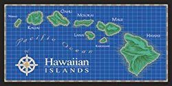 Hawaiian Island Beach Towels