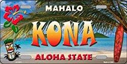 Kona License Plate