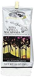 Vanilla Macadamia Nut Kona Coffee