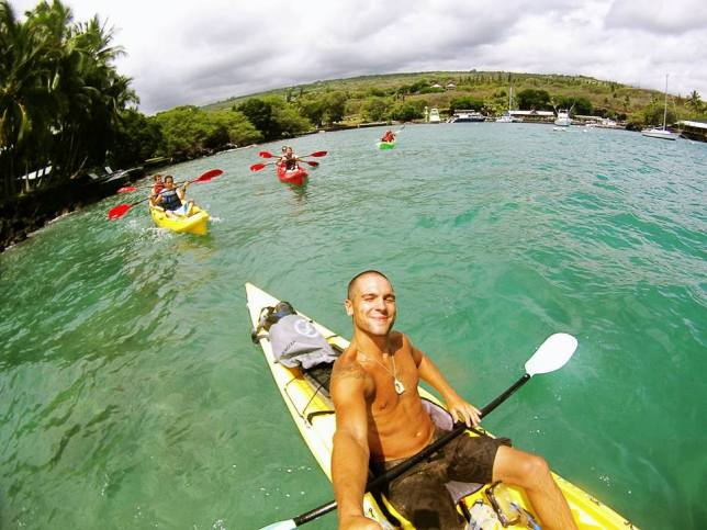 Kayaking in Kona
